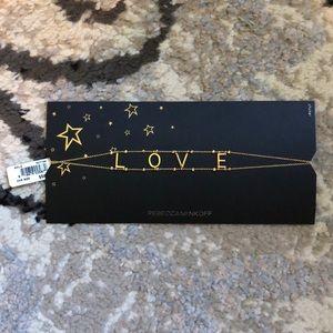 """Rebecca Minkoff Choker Necklace """"Love"""""""